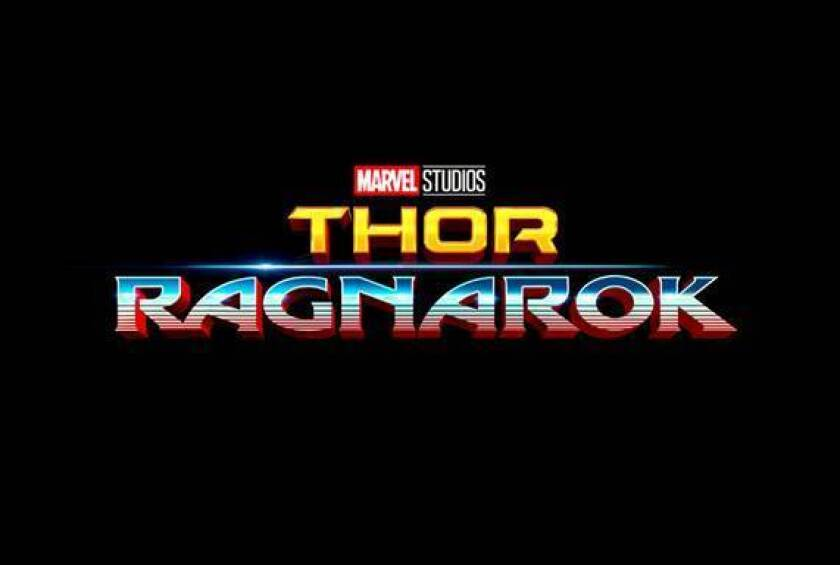 "The logo for the third ""Thor"" film was shown at  Comic-Con."