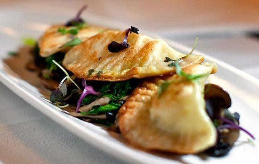 A pierogi dish served at Beechwood.