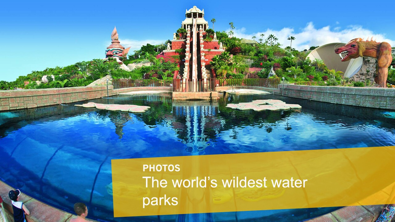The world's wildest water parks