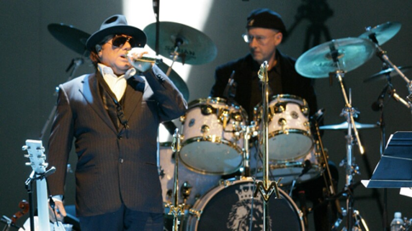 """AFTER ONE REHEARSAL: Van Morrison performed songs from his 1968 """"Astral Weeks"""" and songs from more recent albums at the Bowl last year"""