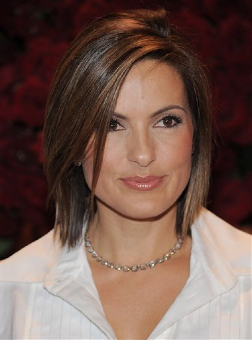 In this Sept. 16, 2008 file photo, actress Mariska Hargitay attends the New Yorkers For Children annual gala at Cipriani's 42nd Street in New York. (AP Photo/Evan Agostini, file)