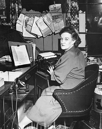 Florabel Muir, Mirror-News columnist who took potshots at Police Chief William H. Parker and took a bullet while accompanying Mickey Cohen in the 1949 shootout at Sherry's cafe.