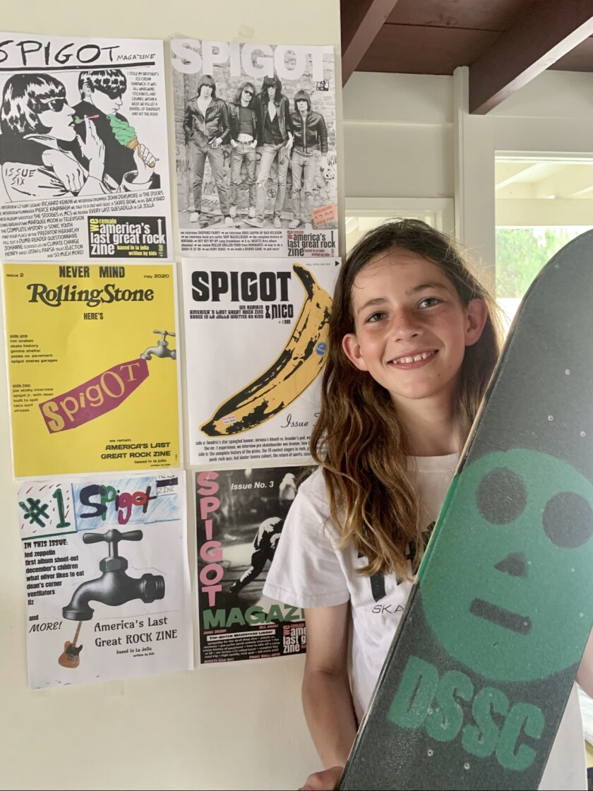 Lucas Leaverton, 12, loves to skateboard and has started two enterprises to spread the word.