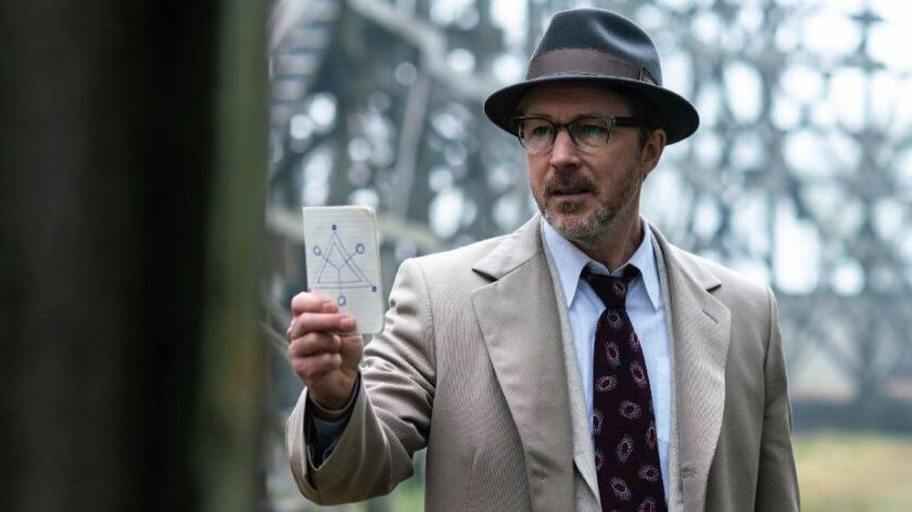 "Aidan Gillen in ""Project Blue Book"" on History."