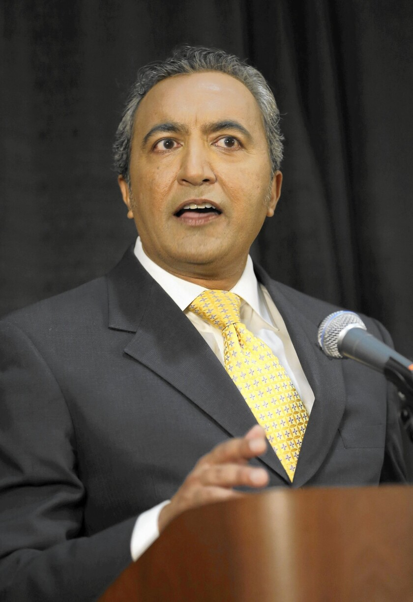 Rep. Ami Bera of Elk Grove reported to the Federal Election Commission nearly $353,000 on hand. He narrowly won his last race and is among the Democratic incumbents whom Republicans are targeting for defeat.