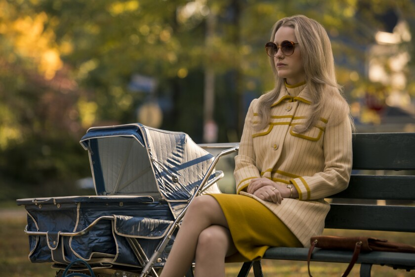"""Rachel Brosnahan in """"I'm Your Woman,"""" which has its world premiere as the opening-night selection of AFI Fest 2020."""
