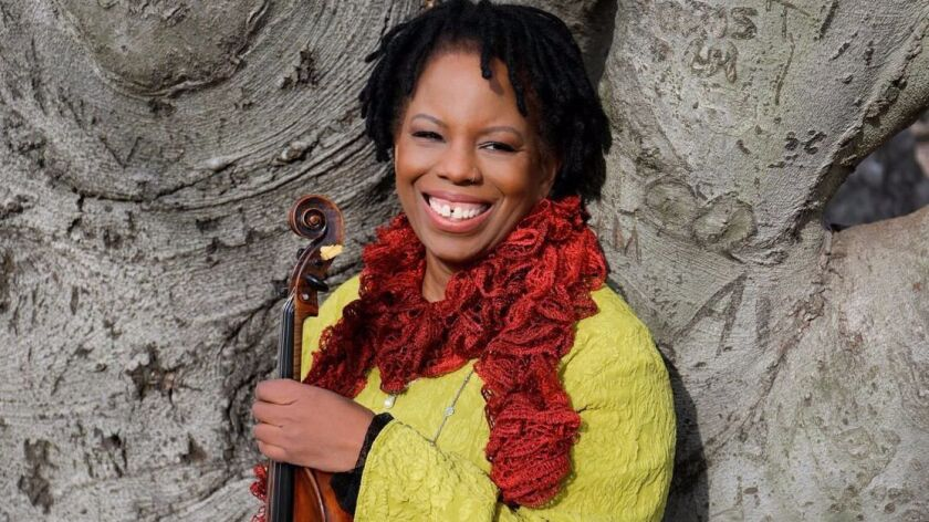 The Regina CarterJazz Quartet performs Aug. 19.