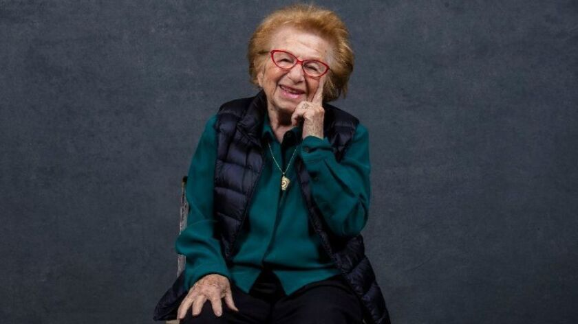 Ruth Westheimer is best known as Dr. Ruth.