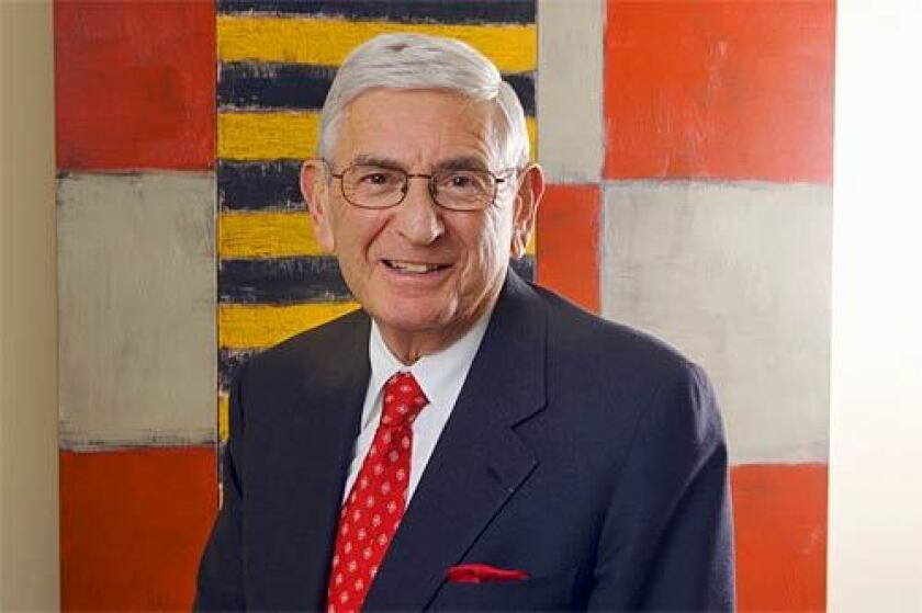 Eli Broad has used wealth and power to set an ambitious agenda for change in Los Angeles.