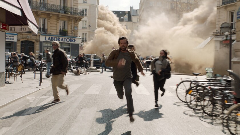 Romain Duris as Mathieu in the Sci-Fi Disaster/Drama film ?A Breath Away? a Gravitas Ventures releas