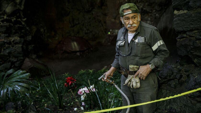 MEXICO CITY, FEDERAL DISTRICT -- THURSDAY, DECEMBER 20, 2018: Juan Carlos Hernandez y Cervantes, 78,