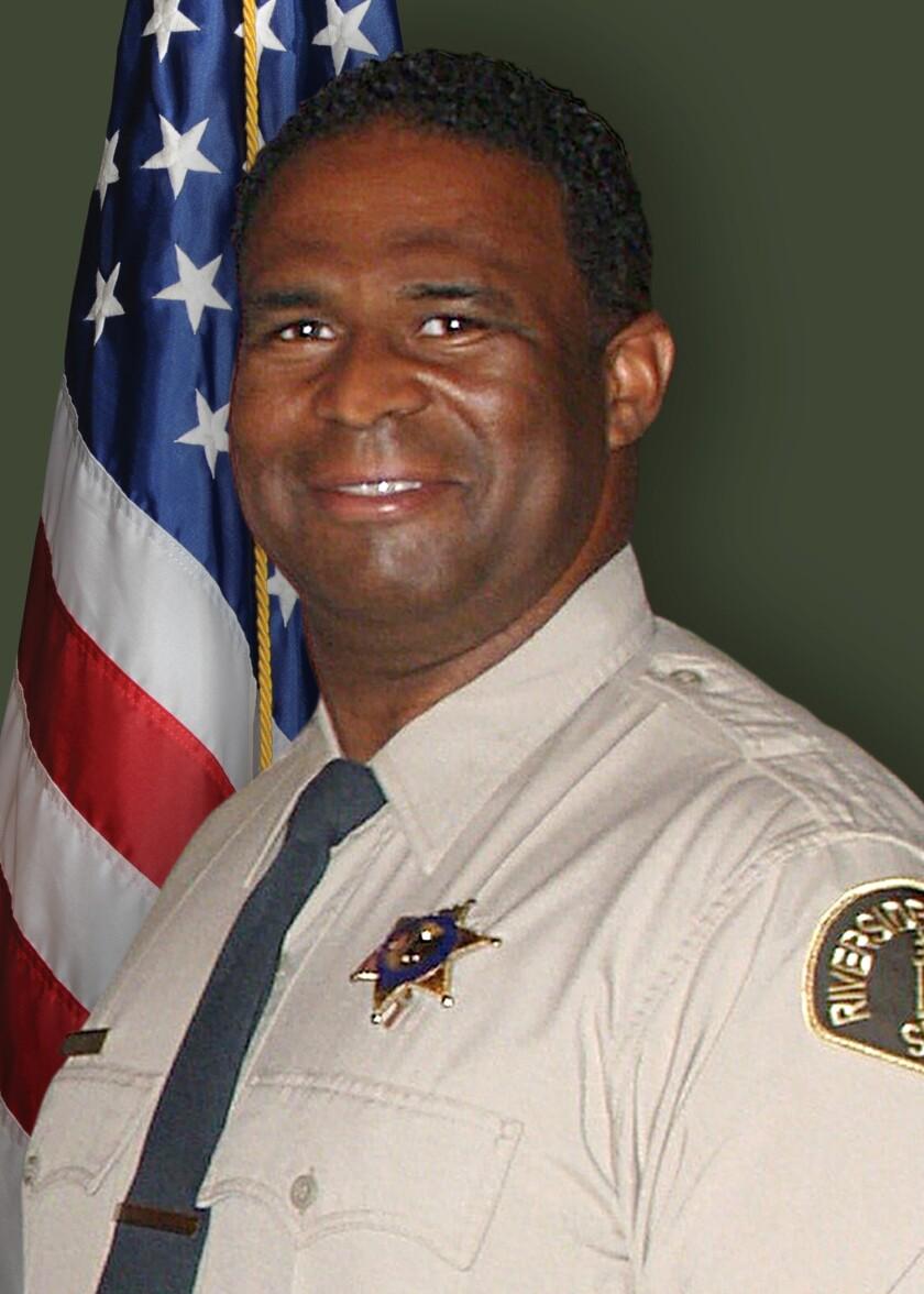Riverside County Sheriff's Deputy Terrell Young died of coronavirus.