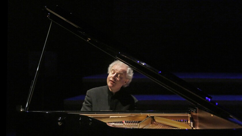 Andras Schiff performs the third-to-final sonatas by Haydn, Mozart, Beethoven and Schubert at Walt Disney Concert Hall.