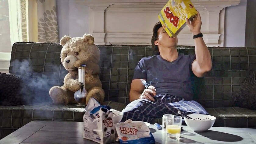 """Ted"" was a blockbuster hit starring Mark Wahlberg."