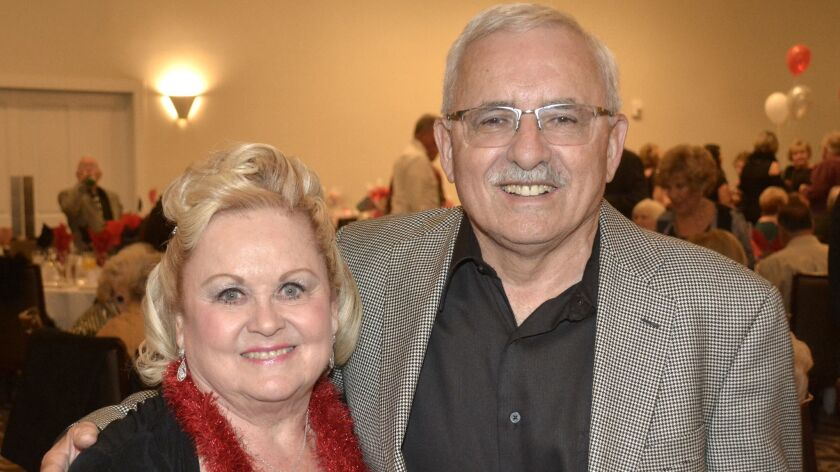 Former guild President Joan Chandler and Chris Gargaro ready to tangle with Lady Luck to raise funds