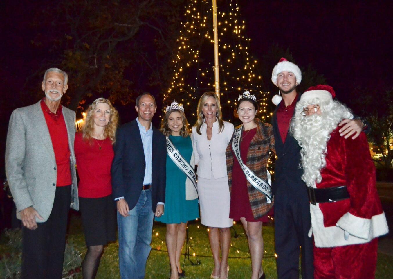 Rancho Bernardo Christmas tree and menorah lighting - 12/11/2018