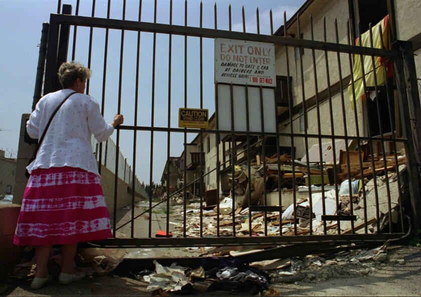 Burbank officials recall '94 quake
