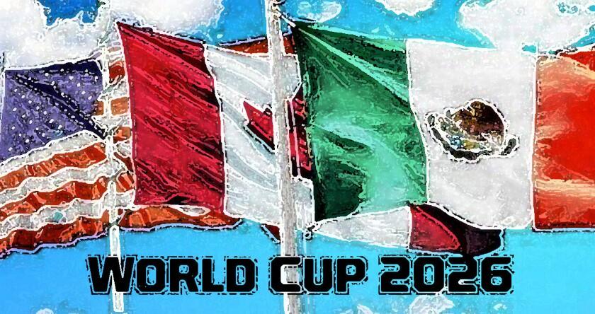 Estados Unidos, Canadá y México son opción para sede conjunta de la Copa del Mundo 2026.
