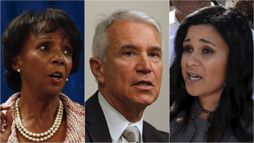 In Los Angeles County D.A.'s race, it's reform vs. tradition. Where does each candidate stand?