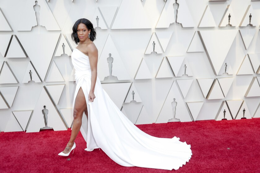 HOLLYWOOD,  CA – February 24, 2019 Regina King during the arrivals at the 91st Academy Awards on S