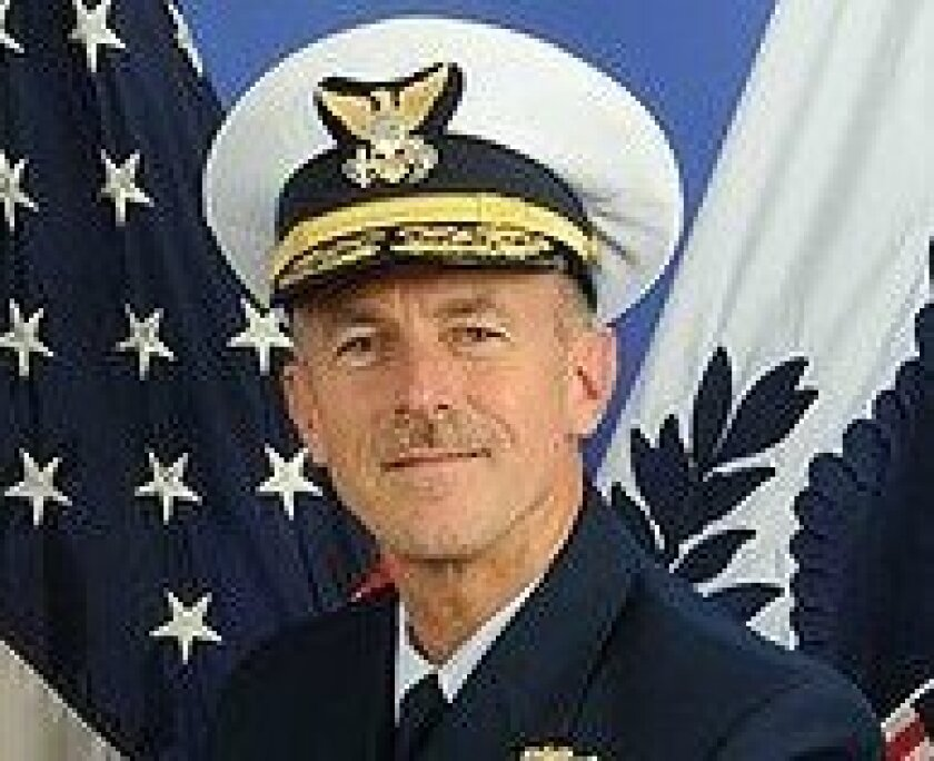 Vice Adm. Paul Zukunft, commander of the Pacific Area and Coast Guard Defense Force West.
