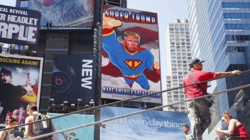 La animación de 15 segundos puede verse esta semana en Times Square en Nueva York.