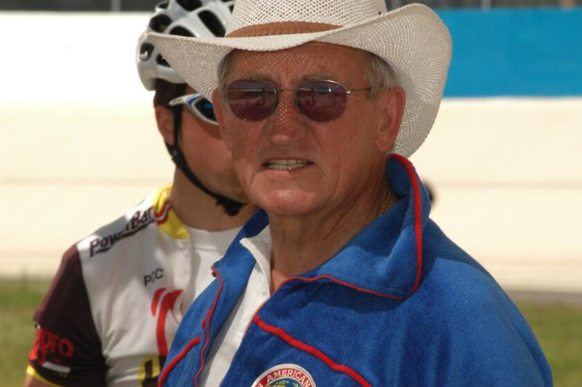 "Edward ""Eddie B"" Borysewicz, a Ramona resident and legendary cycling coach, died Nov. 16 after contracting COVID-19."