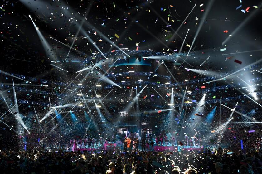 La ceremonia de los Latin Grammy regresa a las Vegas tras la situación de la pandemia.