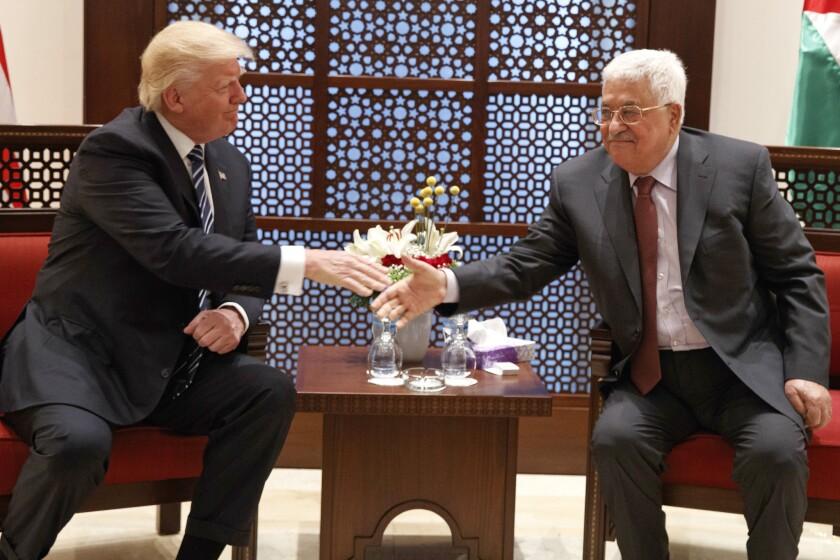 Donald Trump,Mahmoud Abbas