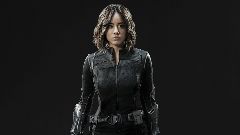 """Marvel's Agents of S.H.I.E.L.D."" actress Chloe Bennet as Agent Daisy Johnson."