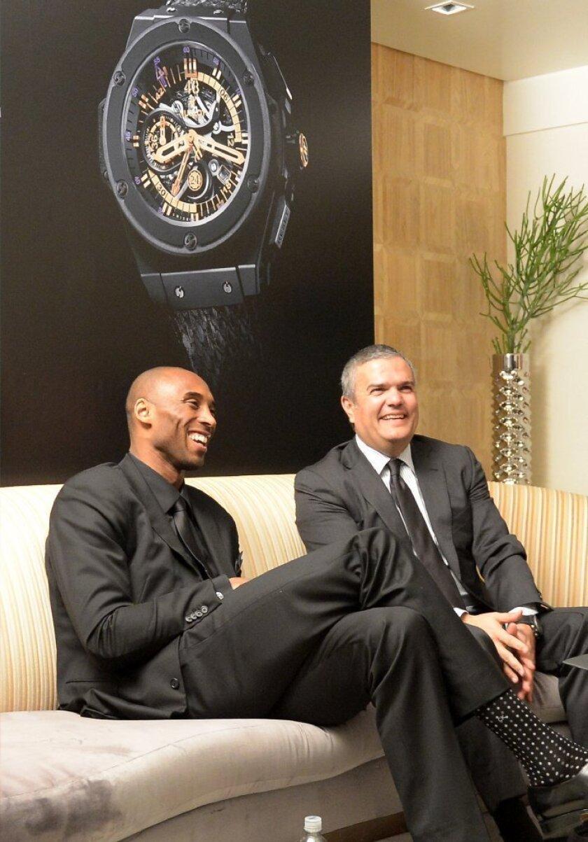 Hublot hires Kobe Bryant, releases Black Mamba timepiece