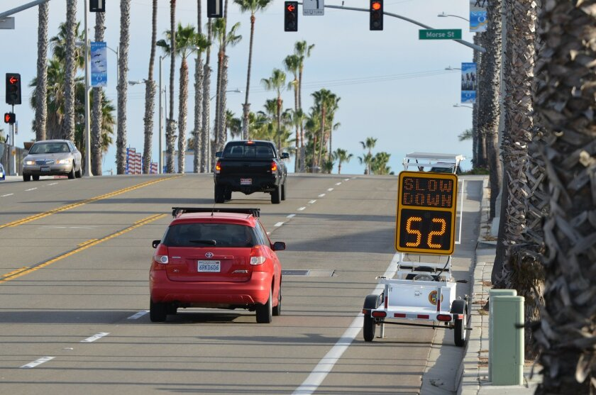 Residents say a stretch of Coast Highway south of Oceanside Boulevard is dangerous for bicyclists. They are asking for safety improvements after a 12-year-old was hit and killed by a pickup entering the road. City officials recently installed a speed monitoring device on the road just north of Morse Street.
