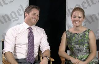 "Sam Jaeger and Erika Christensen in ""Parenthood"""
