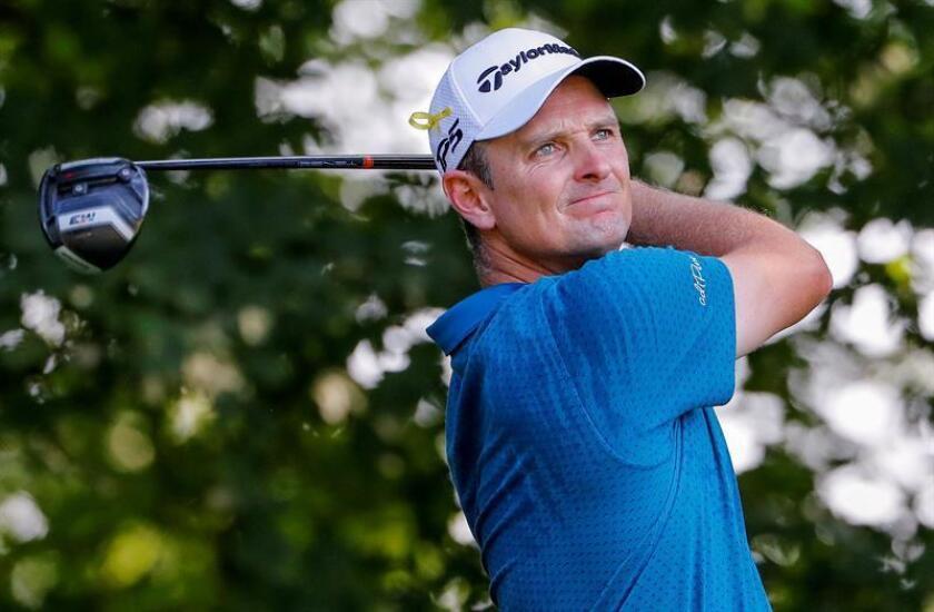 En la imagen, el golfista británico Justin Rose. EFE/Archivo