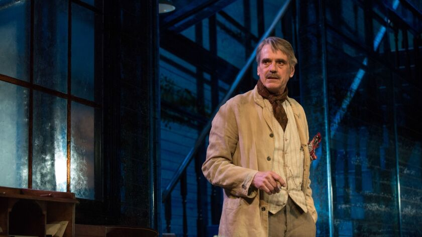 """Jeremy Irons as James Tyrone in in """"Long Day's Journey Into Night."""" Photo Credit: Hugo Glendinning"""