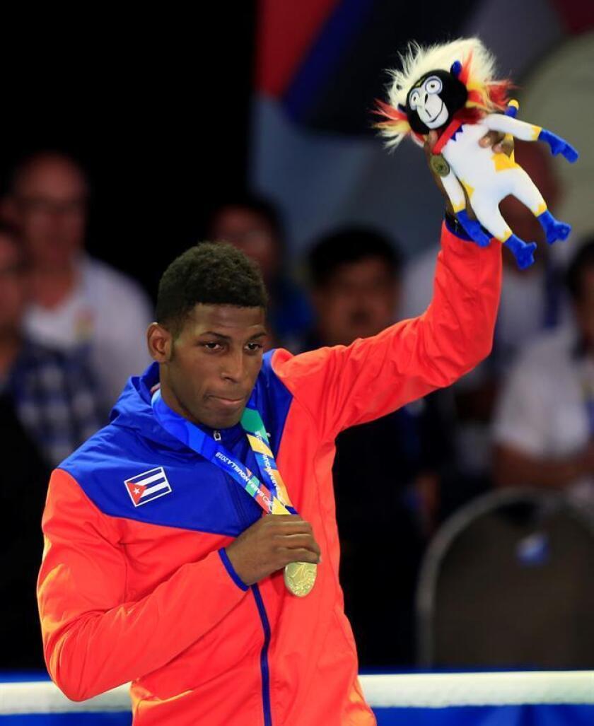En la imagen, el boxeador Andy Cruz de Cuba. EFE/Archivo