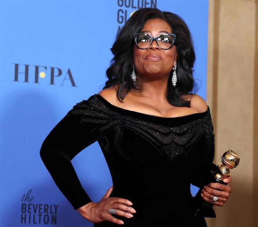 La presentadora de televisión estadounidense Oprah Winfrey. EFE/Archivo