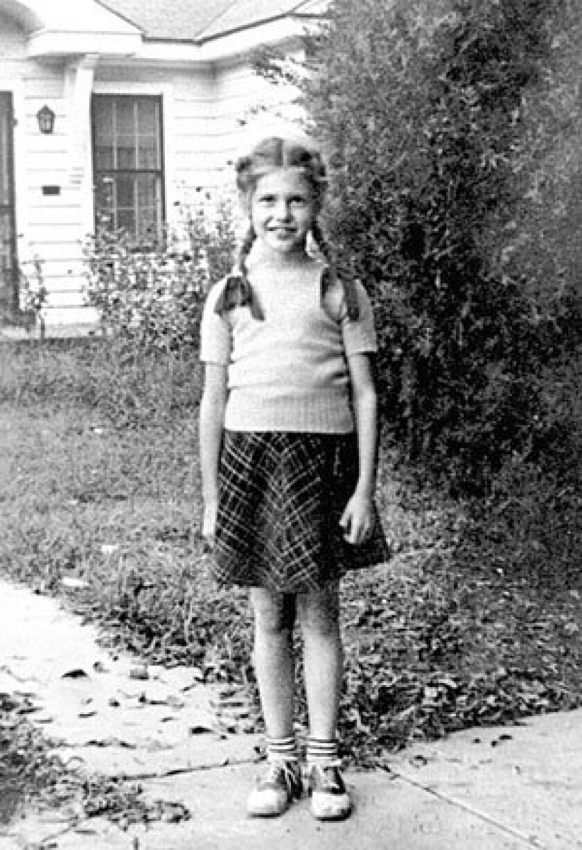 Dean Faulkner at age 7 in Clarksdale, Miss.
