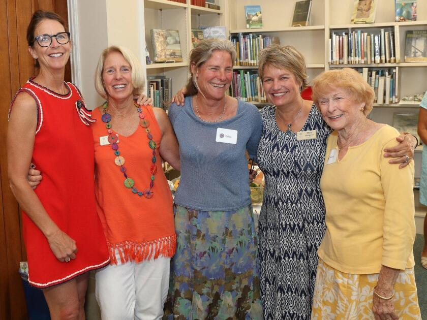 The Library Guild of RSF board members in attendance were Deana Ingalls, Kathy Stumm, Erika Desjardins, Mary Siegrist, and Nancy Miller