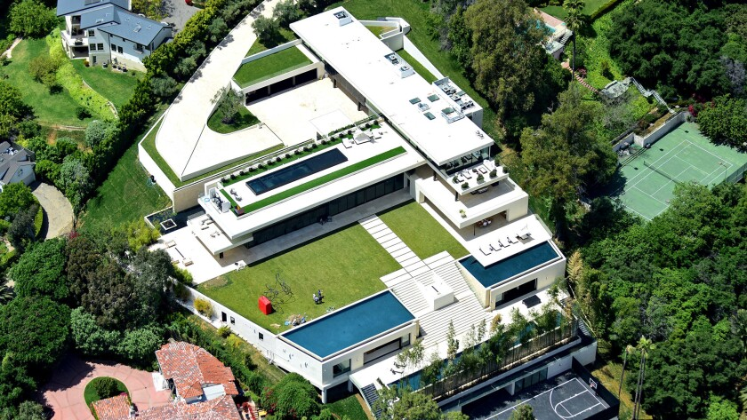 Beyonce and Jay-Z's Bel-Air mansion.