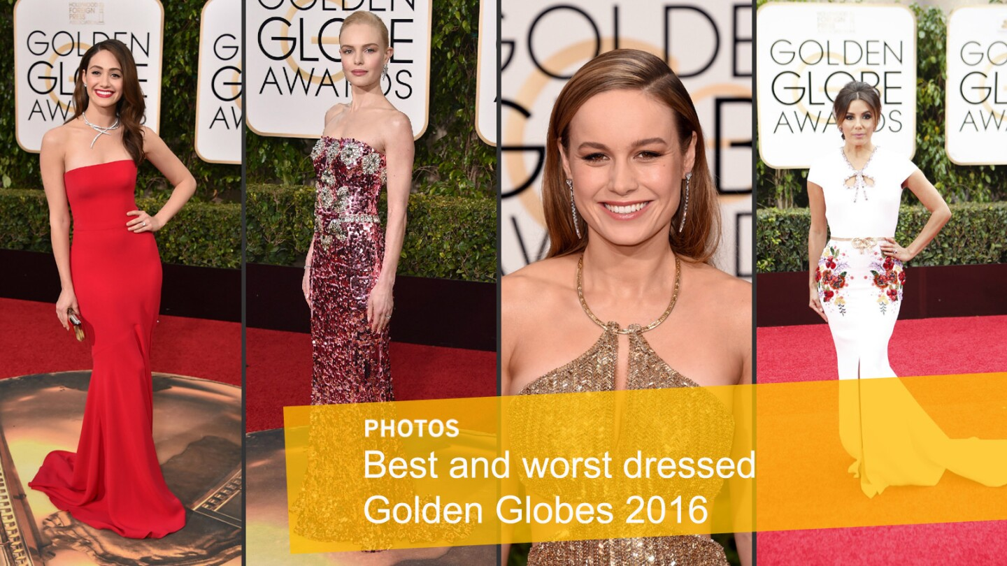 Golden Globes 2016: Best and worst dressed
