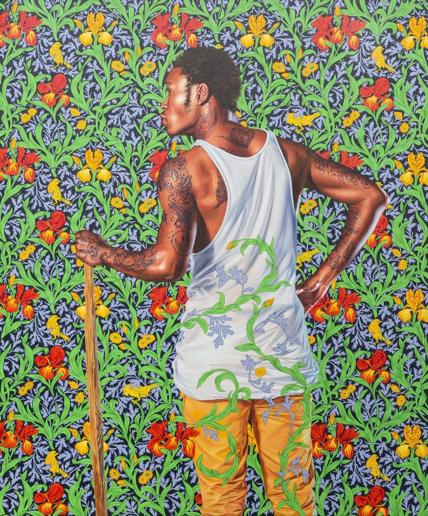 Kehinde Wiley, 'Portrait of Anthony Wheatley,' 2014, Collection of Jay and Jennifer Levitt, San Diego