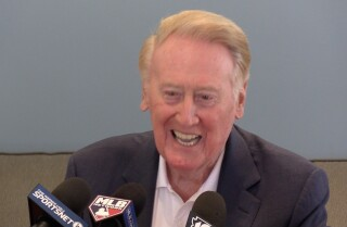 Vin Scully tells us the first phrase he learned in Japanese