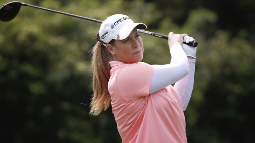 Starting on the front nine, Brittany Lincicome enjoyed her day at the Kia Classic Pro-Am palyed in S