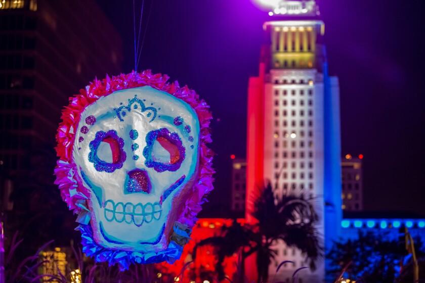 Grand Park's Downtown Dia de los Muertos