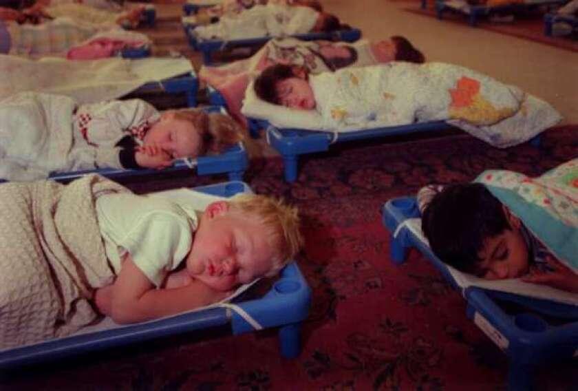 Naps help preschoolers with memory, study says