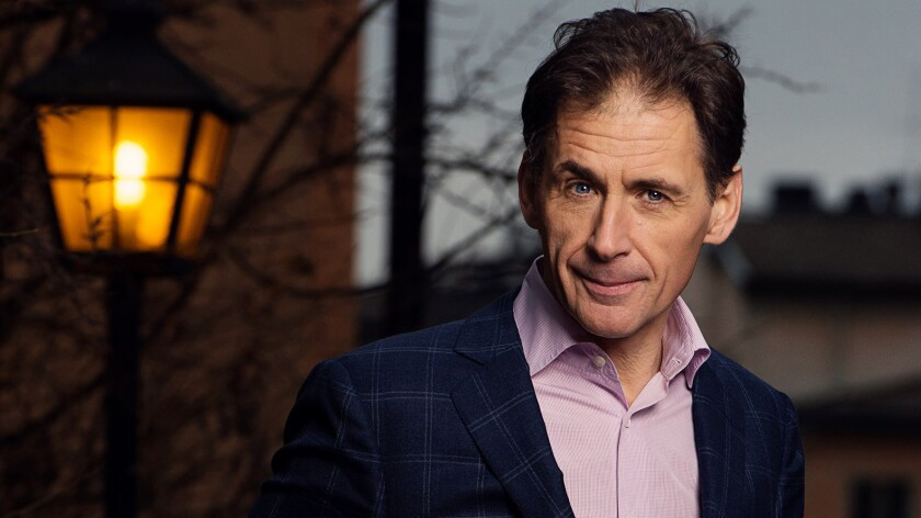 """""""The Girl in the Spider's Web"""" author David Lagercrantz."""