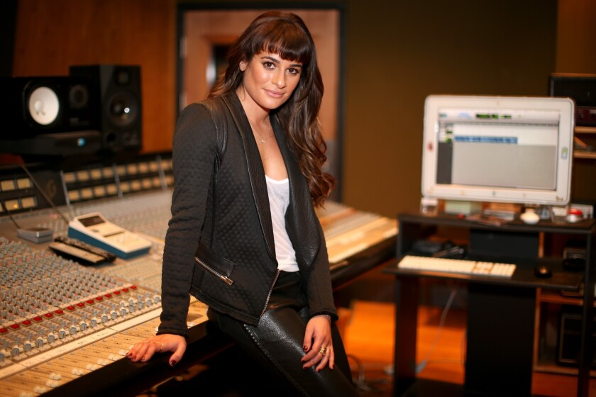 """Louder"" Album Playback And Q + A With Lea Michele"