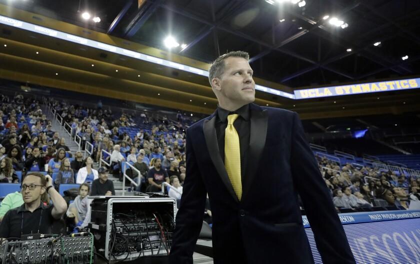 Chris Waller is the new UCLA gymnastics head coach.