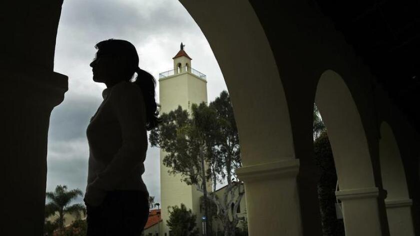 This 2012 photo shows a student who earned a master's degree at San Diego State University and was among the 1 million-plus young unauthorized immigrants helped by an executive order from President Obama.